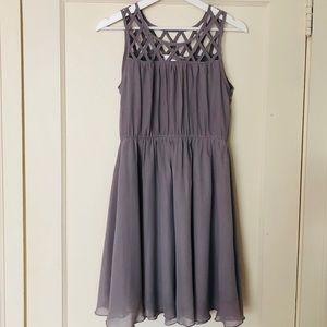 Love Note grey dress: